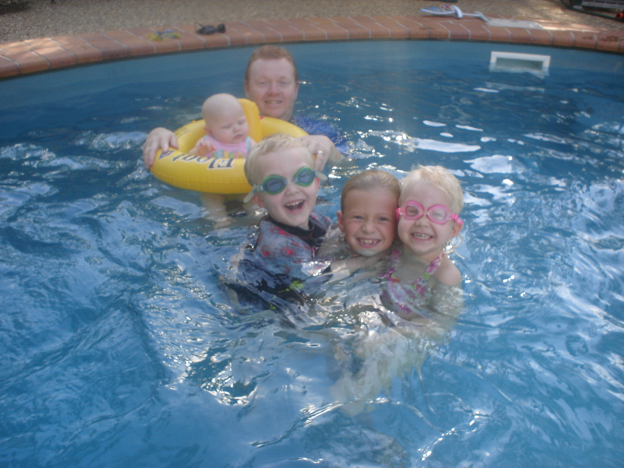 Pool Photo - Archer Kids1